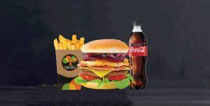 Boundary Rider Burger Combo